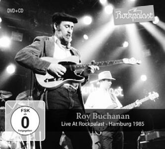 Live at Rockpalast - CD Audio + DVD di Roy Buchanan