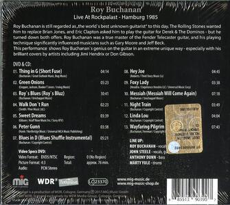 Live at Rockpalast - CD Audio + DVD di Roy Buchanan - 2