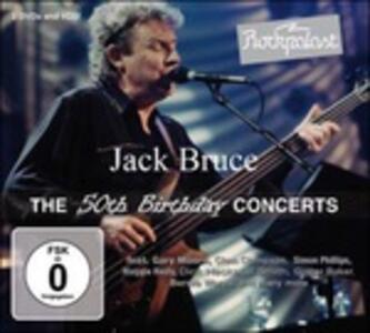 The 50th Birthday Concerts - CD Audio di Jack Bruce