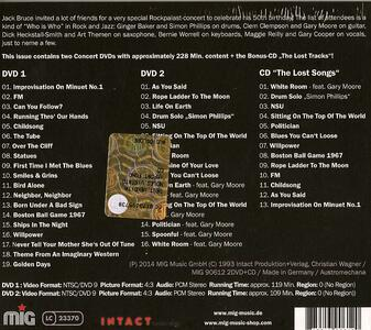 The 50th Birthday Concerts - CD Audio di Jack Bruce - 2
