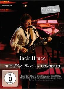 Jack Bruce. The 50th Birthday Concert (2 DVD) - DVD