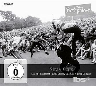 Live at Rockpalast - CD Audio + DVD di Stray Cats