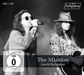 Live at Rockpalast - CD Audio + DVD di Mission