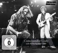 Live at Rockpalast 1980 - CD Audio + DVD di Commander Cody