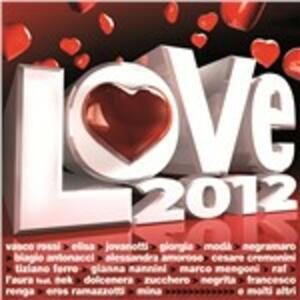 Love 2012 - CD Audio
