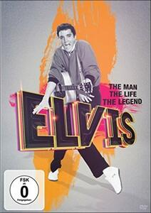 Elvis Presley. The Man, The Life, The Legend - DVD