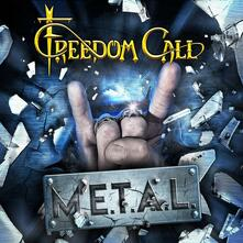 M.E.T.A.L. (Blue Coloured Vinyl) - Vinile LP + CD Audio di Freedom Call