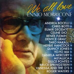 We All Love Ennio Morricone (Colonna Sonora) - CD Audio di Ennio Morricone