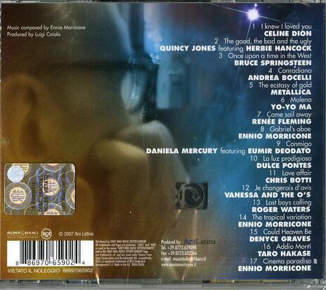 We All Love Ennio Morricone (Colonna sonora) - CD Audio di Ennio Morricone - 2