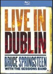 Bruce Springsteen. Bruce Springsteen with the Session Band Live in Dublin - Blu-ray