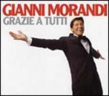 Grazie a tutti - CD Audio di Gianni Morandi