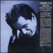 CD Concerto italiano - Partite n.1, n.2 Johann Sebastian Bach Glenn Gould