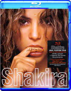 Shakira. Oral Fixation Tour di Nick Wickham - Blu-ray