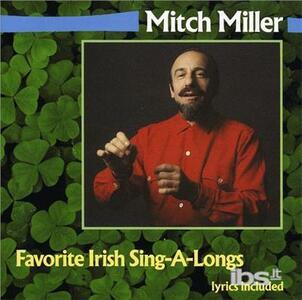 Favorite Irish Sing Along - CD Audio di Mitch Miller