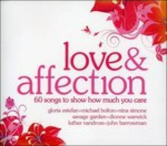 Love & Affection - CD Audio
