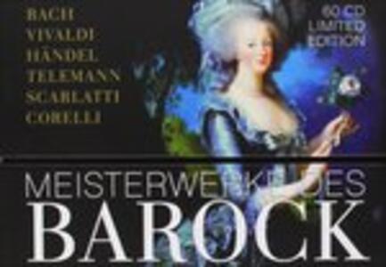 Baroque Masterpieces - CD Audio