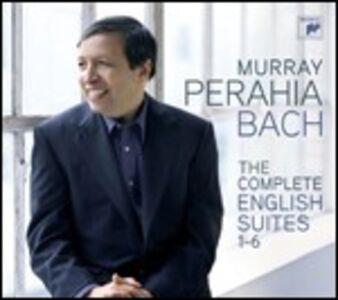 Foto Cover di Suites inglesi, CD di Johann Sebastian Bach,Murray Perahia, prodotto da Sony Classical