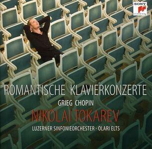 Romantische Klavierkonzerte - CD Audio di Fryderyk Franciszek Chopin,Edvard Grieg,Nikolai Tokarev