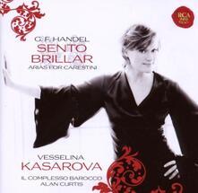 Sento brillar. Arias for Carestini - CD Audio di Vesselina Kasarova,Alan Curtis,Georg Friedrich Händel,Complesso Barocco