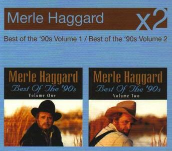 Best of the 90's vols.1 & 2 - CD Audio di Merle Haggard