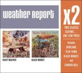 X2 (Heavy Weather-Black) - CD Audio di Weather Report