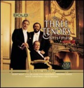 3 Tenors Christmas - CD Audio + DVD di Placido Domingo,Luciano Pavarotti,José Carreras