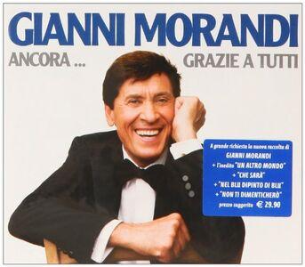 Foto Cover di Ancora...grazie a tutti, CD di Gianni Morandi, prodotto da Sony-BMG