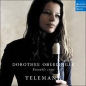 Works for Recorder - CD Audio di Georg Philipp Telemann