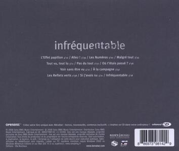 Infrequentable - CD Audio di Benabar - 2