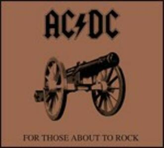 For Those About to Rock - CD Audio di AC/DC