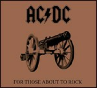 CD For Those About to Rock di AC/DC
