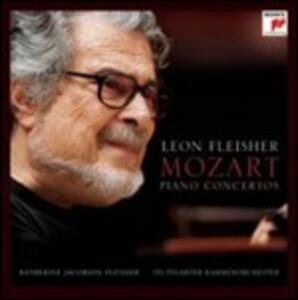 Concerti per pianoforte n.12, n.13 - Concerto per 3 pianoforti K242 (Arr. per 2 pianoforti) - CD Audio di Wolfgang Amadeus Mozart,Leon Fleisher,Katherine Fleischer