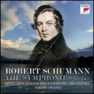 Sinfonie n.1, n.2 - CD Audio di Robert Schumann,Sakari Oramo,Royal Stockholm Philharmonic Orchestra