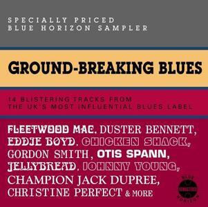 Ground-Breaking Blues - CD Audio