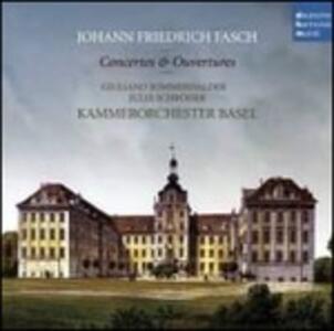 Concerti & Ouvertures - CD Audio di Johann Friedrich Fasch,Orchestra da camera di Basilea