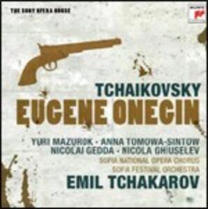Eugene Onegin - CD Audio di Pyotr Il'yich Tchaikovsky,Nicolai Gedda,Anna Tomowa-Sintow,Stefka Popangelova,Sofia Festival Orchestra,Emil Tchakarov