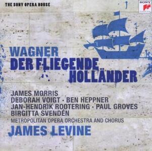L'olandese volante (Der Fliegende Holländer) - CD Audio di Richard Wagner,James Levine,Ben Heppner,Deborah Voigt,James Morris,Jan-Hendrik Rootering,Metropolitan Orchestra
