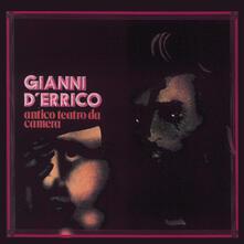 Antico teatro da camera - Vinile LP di Gianni D'Errico