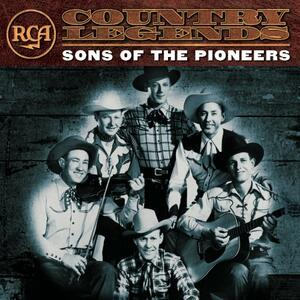 Rca Country Legends - CD Audio di Sons of the Pioneers