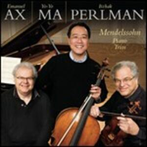 Trii con pianoforte op.49, op.66 - CD Audio di Yo-Yo Ma,Felix Mendelssohn-Bartholdy,Itzhak Perlman,Emanuel Ax