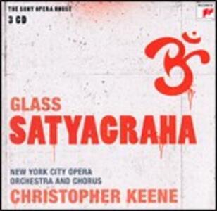 Satyagraha - CD Audio di Philip Glass,New York City Opera Orchestra,Christopher Keene
