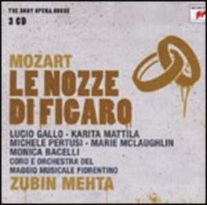 Le nozze di Figaro - CD Audio di Wolfgang Amadeus Mozart,Zubin Mehta,Orchestra del Maggio Musicale Fiorentino,Karita Mattila,Lucio Gallo,Marie McLaughlin