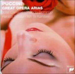 Great Opera Arias - CD Audio di Giacomo Puccini