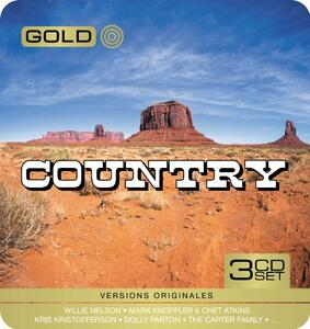 Gold Metal Box Country - CD Audio
