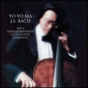 Suites per violoncello - CD Audio di Johann Sebastian Bach,Yo-Yo Ma