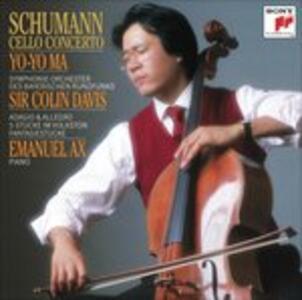 Concerto per violoncello - CD Audio di Robert Schumann,Yo-Yo Ma,Sir Colin Davis,Emanuel Ax,Orchestra Sinfonica della Radio Bavarese