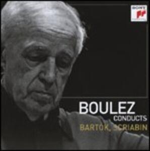 Bartok - CD Audio di Pierre Boulez,Bela Bartok