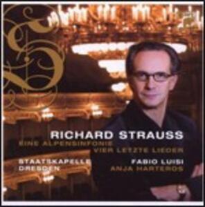 Sinfonia delle Alpi (Eine Alpensinfonie) - Vier Letzte Lieder - CD Audio di Richard Strauss,Fabio Luisi