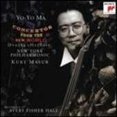 CD Concertos for the New World Yo-Yo Ma Kurt Masur New York Philharmonic Orchestra