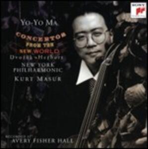 Concertos for the New World - CD Audio di Yo-Yo Ma,Kurt Masur,New York Philharmonic Orchestra